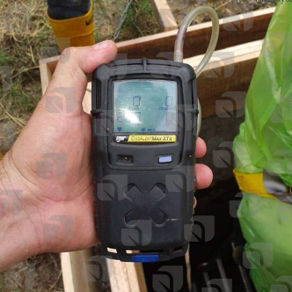 Medidor Multigas para trabajos en espacios confinados